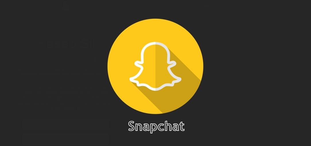 Snapchat Hesabı Nasıl Silinir?